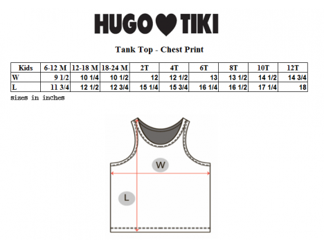 Hugo Loves Tiki Tank Top FISH CHEST