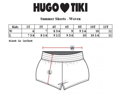 Hugo Loves Tiki Summer Woven Short FISH