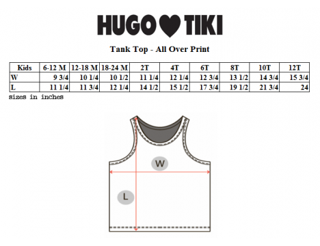 Hugo Loves Tiki Tank Top POODLE
