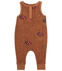 Hugo Loves Tiki Terry Long Leg Romper LADYBUG Hugo Loves Tiki Terry Long Leg Romper LADYBUG