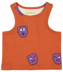 Hugo Loves Tiki Tank Top RED RASPBERRIES Hugo Loves Tiki Tank Top RED RASPBERRY