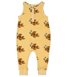 Hugo Loves Tiki Terry Long Leg Romper FISH Hugo Loves Tiki Terry Long Leg Romper FISH
