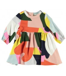 Stella McCartney Kids Baby Dress COLOUR BLOCK Stella McCartney Kids Baby Dress COLOUR BLOCK