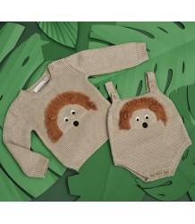 Stella McCartney Kids Thumper Baby Jumper EGEL Stella McCartney Kids Thumper Baby Jumper HEDGEHOG