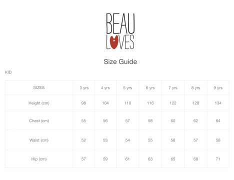 Beau LOves Knit Cardigan HEARTS