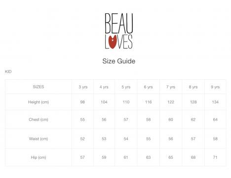 Beau LOves Collar Dress WONDERLAND