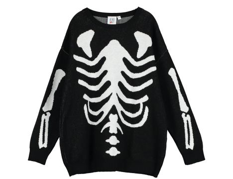 Beau LOves Knit Sweater SKELETON