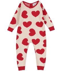 Beau LOves Knit Romper HEARTS Jacquard ao Beau LOves Knit Romper HEARTS Jacquard ao