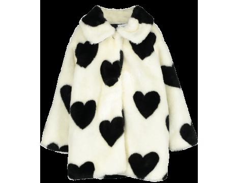 Beau LOves Fur Jacket HEARTS