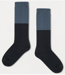 Repose AMS Socks Color Block BLUE Repose AMS Socks COLOR BLOCK stone blue