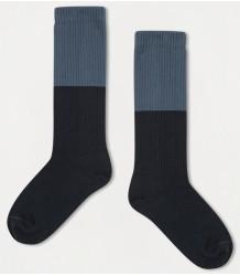 Repose AMS Sok Color Block BLAUW Repose AMS Socks COLOR BLOCK stone blue