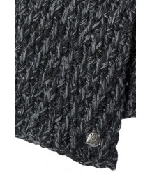 Barts Ricky Scarf Barts Ricky Scarf dark heather grey / black