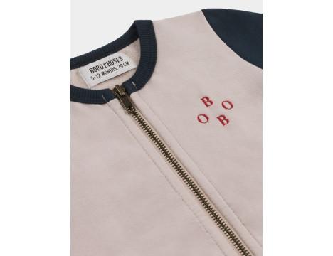 Bobo Choses ARCHIGRAM SATURN Zipped Baby Sweatshirt