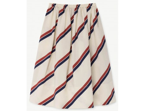 The Animals Observatory Sow Kids Skirt STRIPES