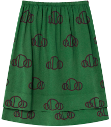 The Animals Observatory Kitten Kids Skirt CIRCLES The Animals Observatory Kitten Kids Skirt CIRCLES