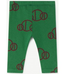 The Animals Observatory Penguin Babies Leggings GREEN CIRCLES The Animals Observatory Penguin Babies Leggings GREEN CIRCLES