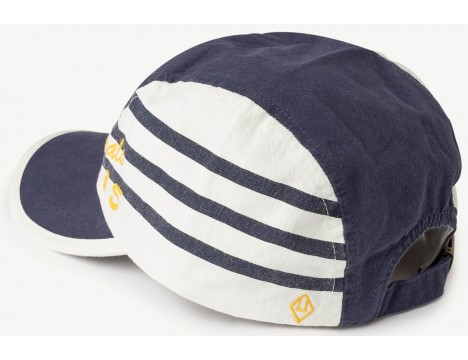 The Animals Observatory Hamster Kids Cap STRIPES