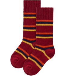 The Animals Observatory Snail Kids Socks The Animals Observatory Snail Kids Socks deep red