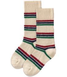 The Animals Observatory Snail Kids Socks The Animals Observatory Snail Kids Socks raw white