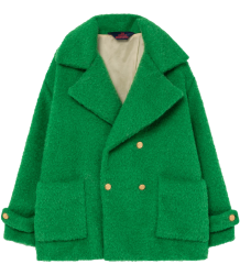 The Animals Observatory Jaguar Kids Coat The Animals Observatory Jaguar Kids Coat green