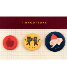 Tiny Cottons LUCKYWOOD Pins Set Tiny Cottons LUCKYWOOD Pins Set