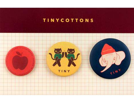 Tiny Cottons LUCKYWOOD Pins Set