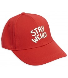 Mini Rodini STAY WEIRD Embr. Cap Mini Rodini STAY WEIRD Embr. Cap