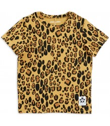 Mini Rodini Basic LEOPARD SS Tee NEW Mini Rodini Basic LEOPARD SS Tee NEW