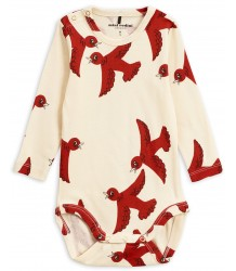 Mini Rodini FLYING BIRDS LS Body Mini Rodini FLYING BIRDS LS Body