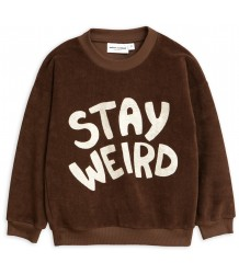 Mini Rodini STAY WEIRD Terry Sweatshirt Mini Rodini STAY WEIRD Terry Sweatshirt