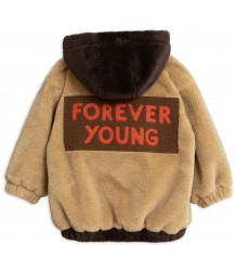 Mini Rodini Faux Fur Hooded Jacket LIMITED EDITION Mini Rodini Faux Fur Hooded Jacket LIMITED EDITION