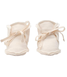 Gray Label Raw Edge Booties Gray Label, Raw Edge Booties, cream