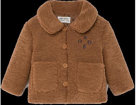 Bobo Choses Sheepskin Baby Jacket