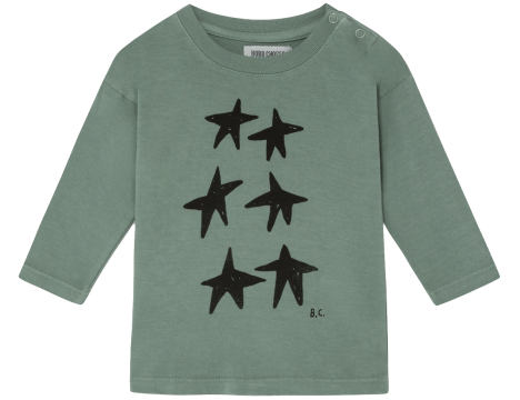 Bobo Choses STAR LS Baby T-shirt