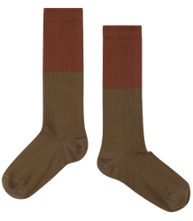 Repose AMS Socks Color Block OLIVE Repose AMS Socks COLOR BLOCK
