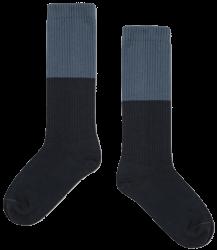 Repose AMS Sok Color Block BLAUW Repose AMS Socks COLOR BLOCK