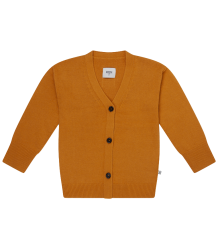 Repose AMS Grebreid V-hals Vest OKER Repose AMS Knitted V-neck Cardigan ocher yellow
