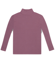 Repose AMS Col Nek T-shirt MAUVE Repose AMS Turtle Neck