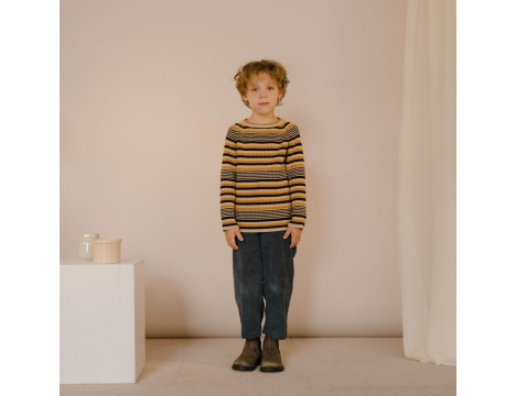 Repose AMS Knit Raglan Sweater RETRO STRIPES