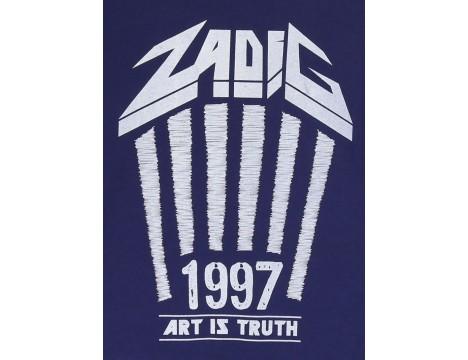 Zadig & Voltaire Kids T-shirt Boxo ZADIG 1997