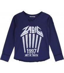Zadig & Voltaire Kids T-shirt Boxo ZADIG 1997 Zadig & Voltaire Kids T-shirt Boxo ZADIG 1997