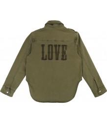 Zadig & Voltaire Kids Bonnie Drill Shirt Jacket LOVE Zadig & Voltaire Kids Bonnie Drill Shirt Jacket