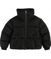 Zadig & Voltaire Kids July FAKE LEATHER Puffer Jacket Zadig & Voltaire Kids July FAKE LEATHER Puffer Jacket