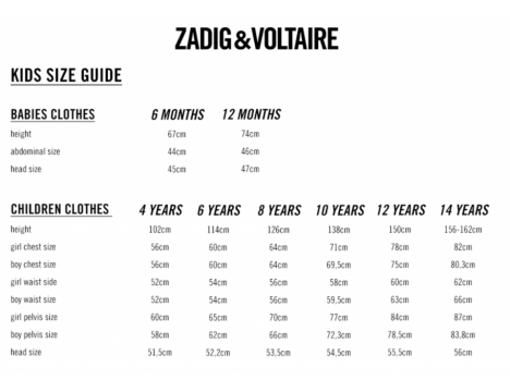 Zadig & Voltaire Kids Kita T-shirt PARIS