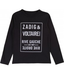 Zadig & Voltaire Kids Kita T-shirt PARIS Zadig & Voltaire Kids Kita T-shirt PARIS