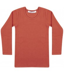 Mingo Rib Top LS Tee Mingo Rib Top LS Tee red wood