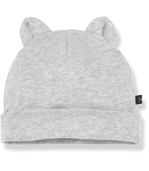 1+ in the Family LEO Beanie w/Ears 1  in the Family LEO Beanie w/Ears grey melange