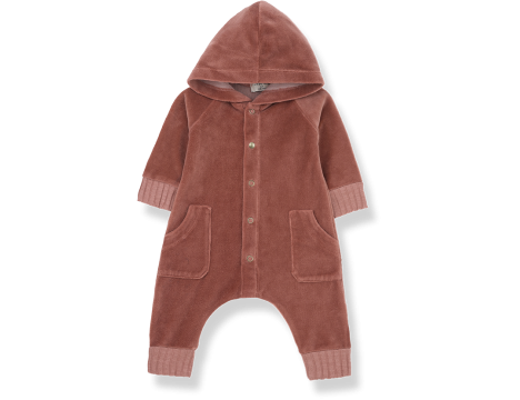 1+ in the Family ARGOS Hood Jumpsuit