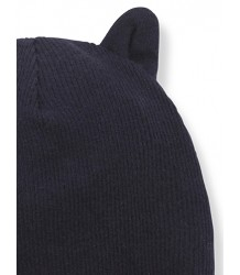 1+ in the Family PARIS Beanie w/Ears 1  in the Family PARIS Beanie w/Ears dark blue
