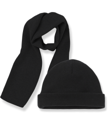 1+ in the Family LUCCA Beanie & Scarf 1  in the Family LUCCA Beanie & Scarf black